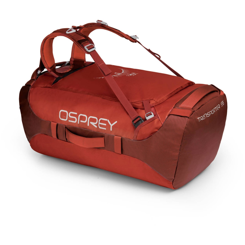 Osprey Transporter 95 Duffle Bag - Ruffian Red