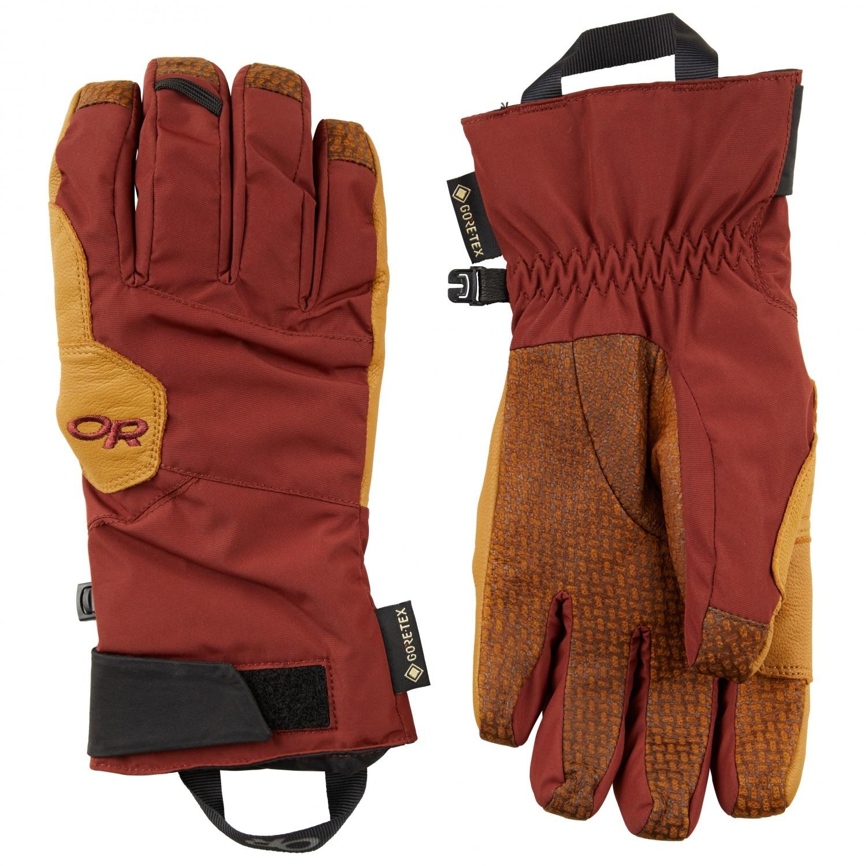 Outdoor Research Bitterblaze Gloves - Madder/Natural