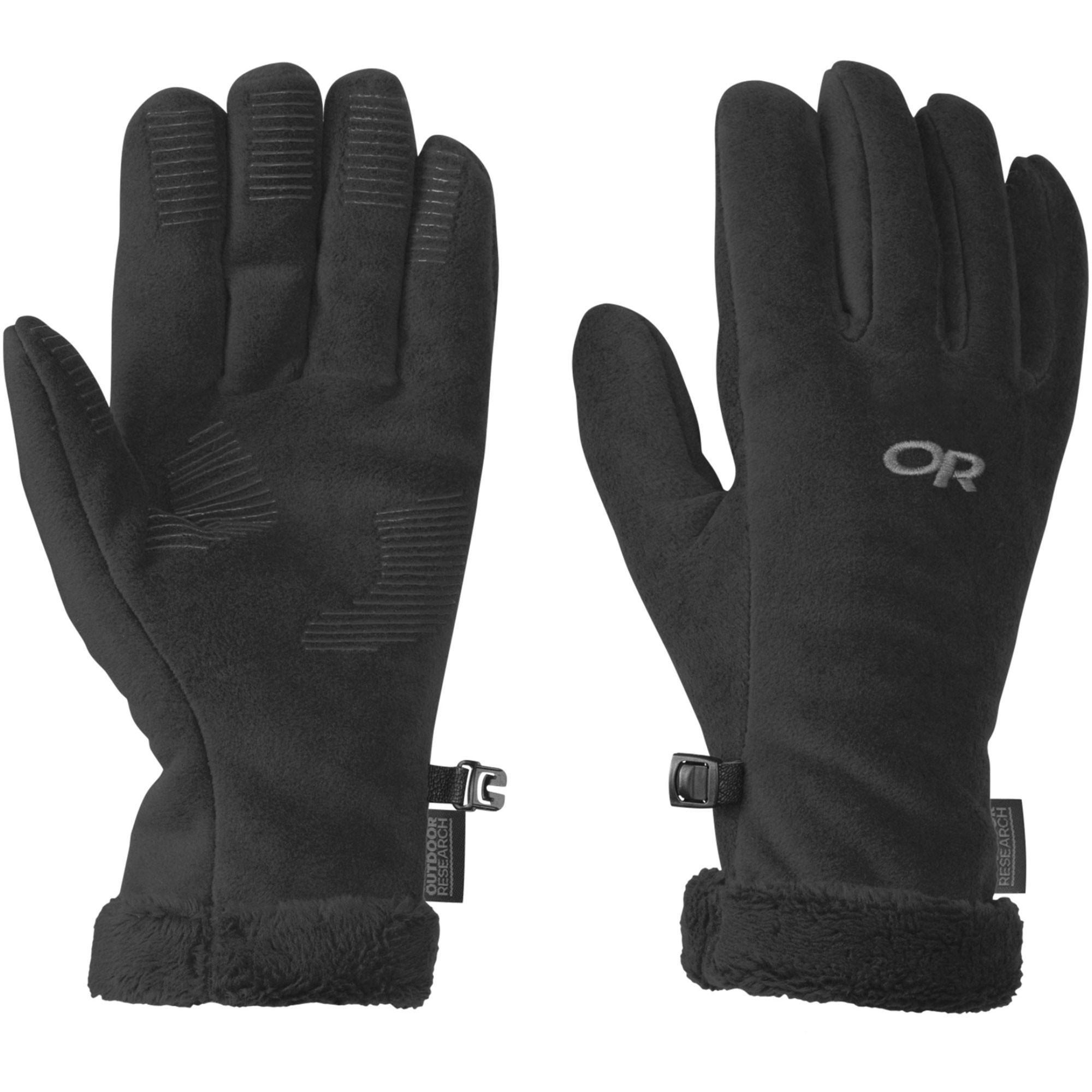 Outdoor Research Fuzzy Sensor Women's Gloves - Black