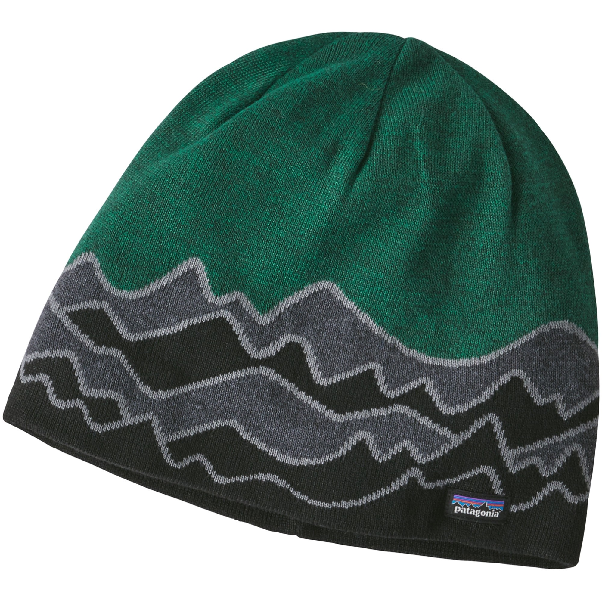Patagonia Beanie Hat - Scenic Route: Forge Grey