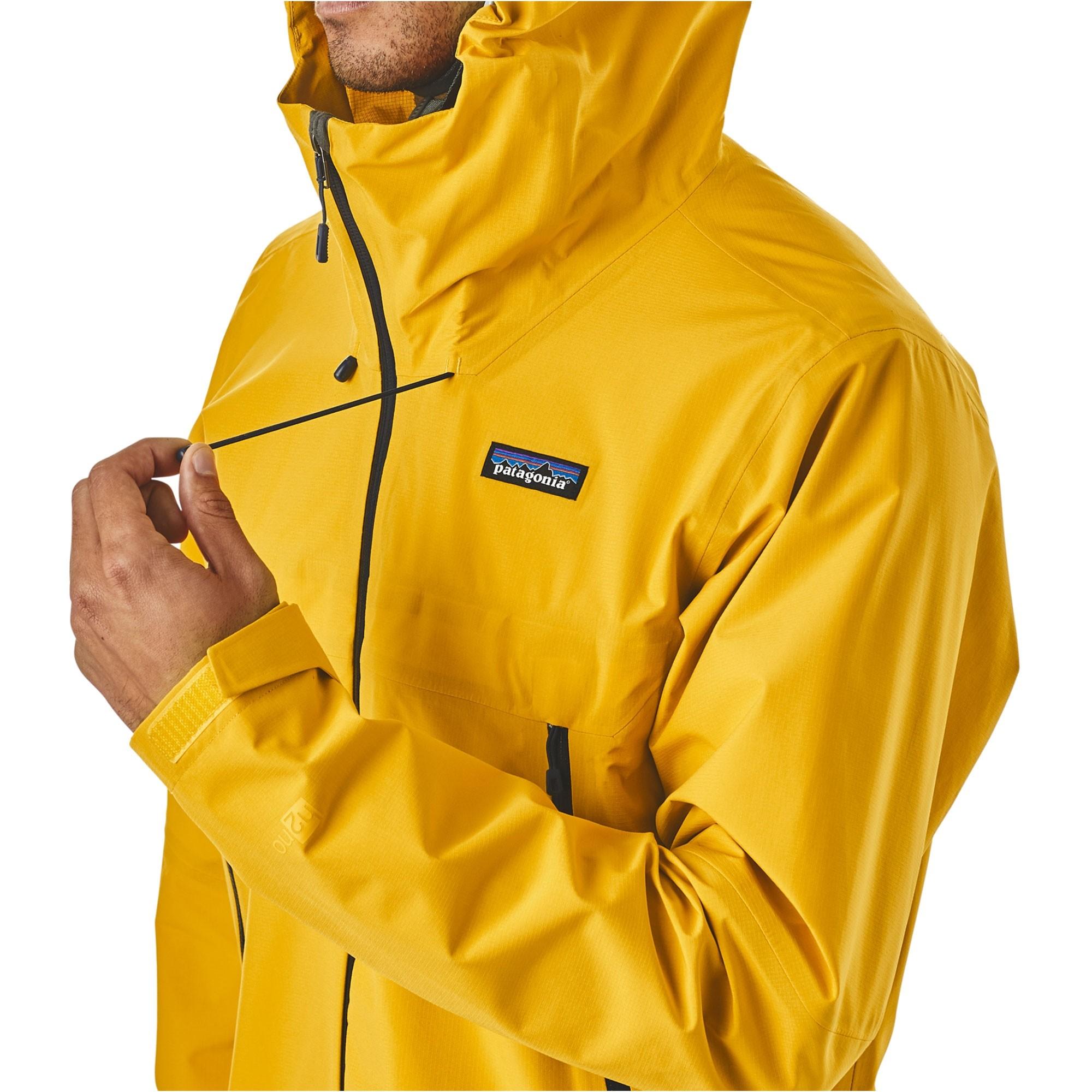 Patagonia Cloud Ridge Waterproof Jacket Rugby Yellow OM1