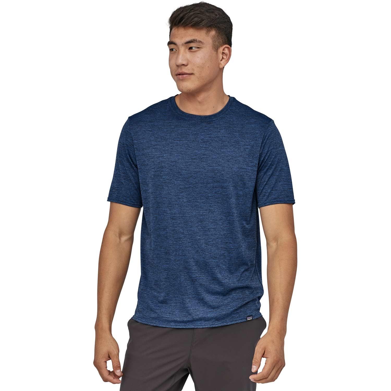 Patagonia Cap Cool Daily Shirt - Viking Blue/Navy Blue X-Dye