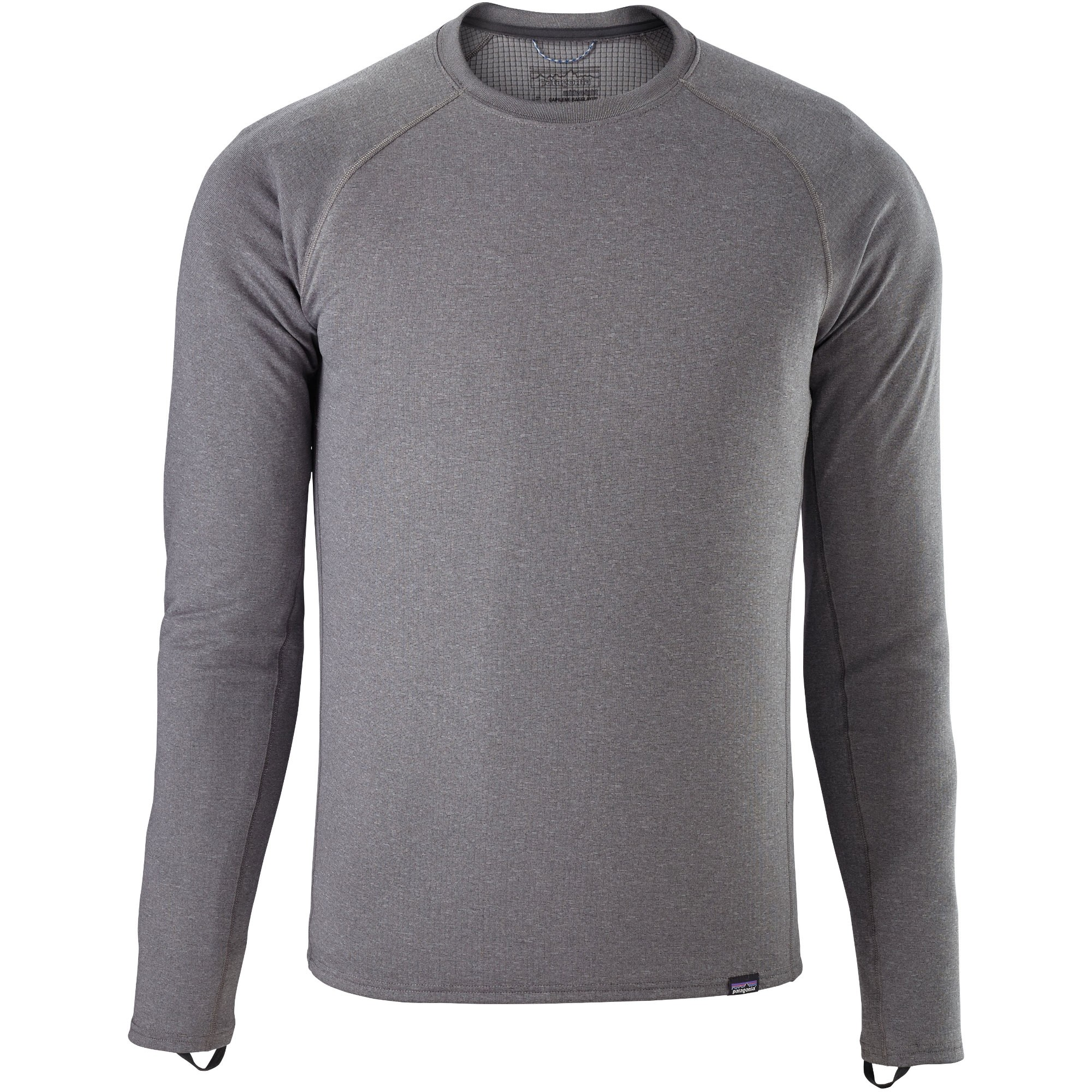 Patagonia Capilene Midweight Crew Men's Baselayer - Forge Grey/Feather Grey X-Dye