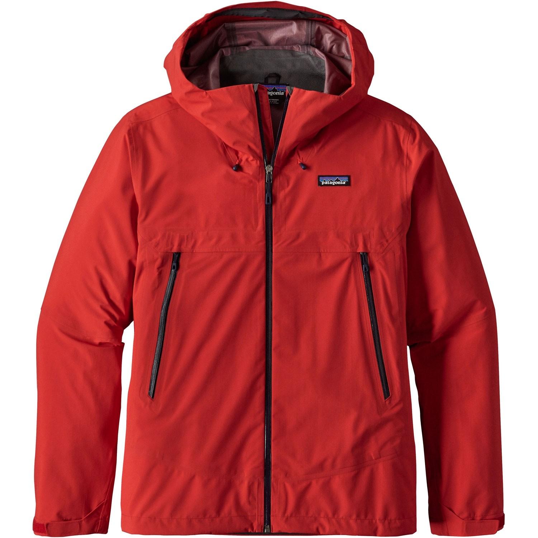 Patagonia Cloud Ridge Men's Waterproof Jacket - Fire