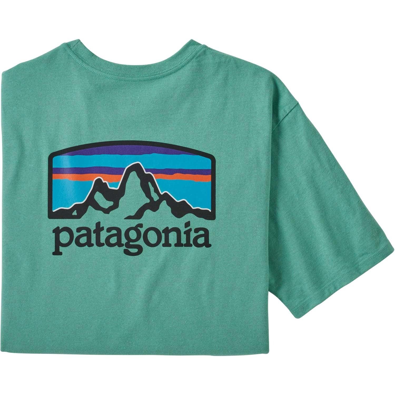 Patagonia Fitz Roy Horizons Responsibili-Tee - Light Beryl Green
