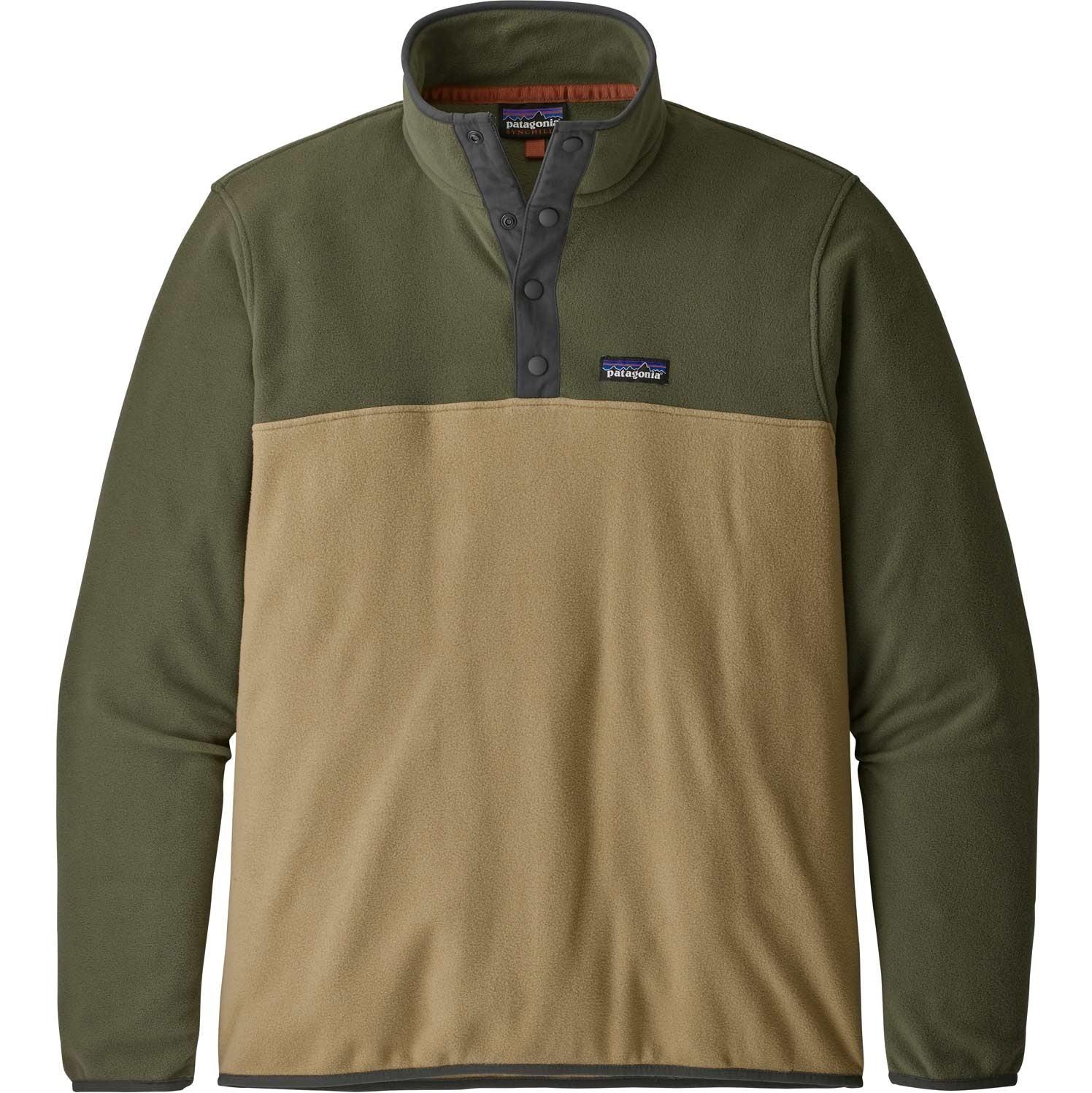 Patagonia Micro D Snap-T Pullover - Men's - Classic Tan