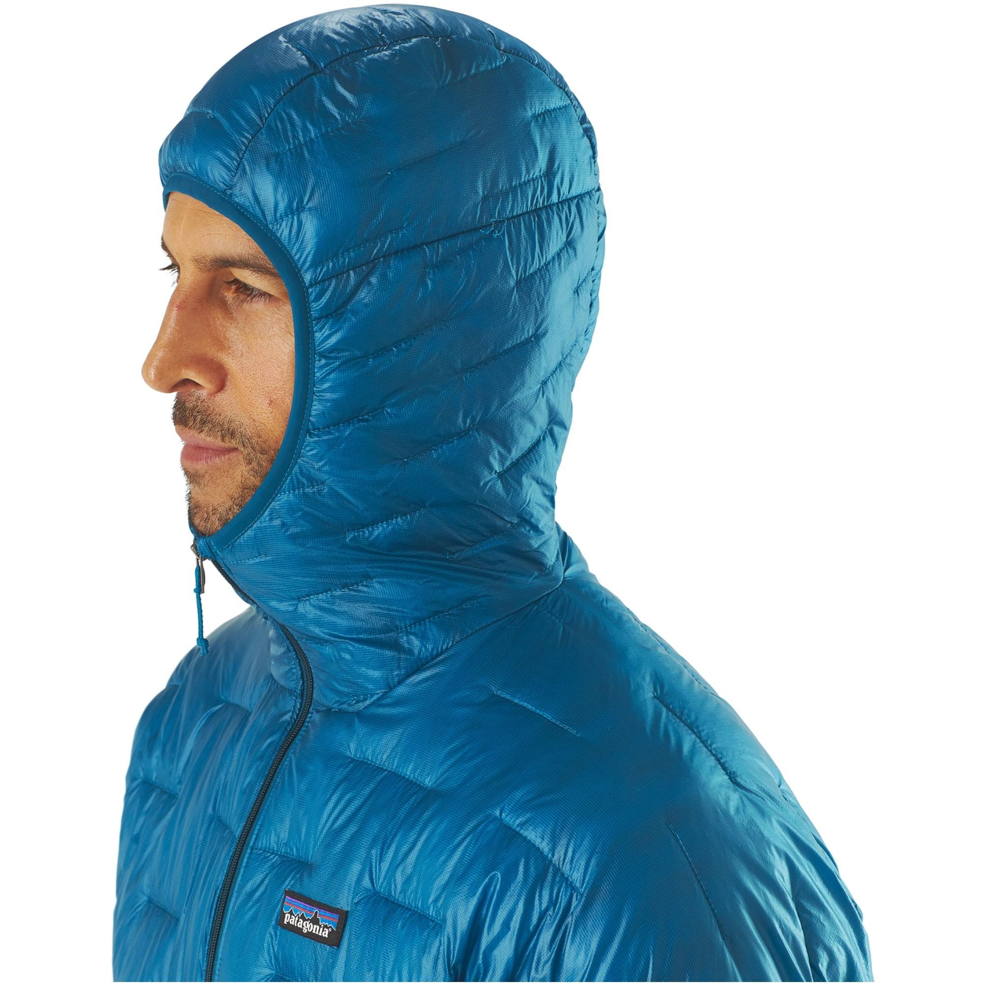 Patagonia Micro-Puff Hoody - Balkan Blue - hood