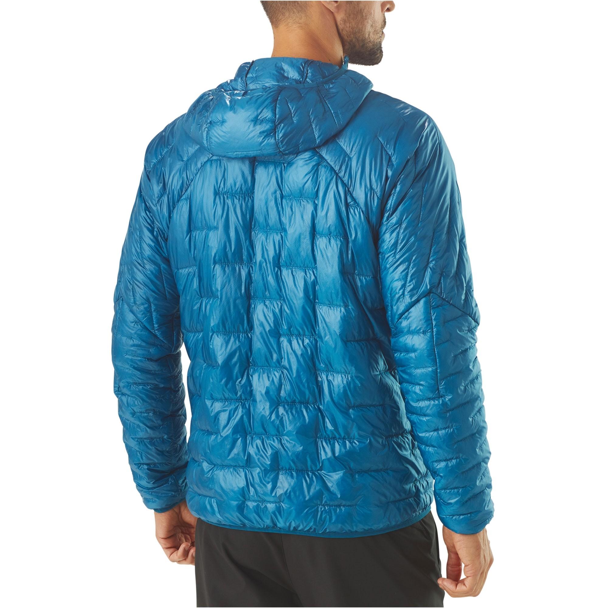 Patagonia Micro-Puff Hoody - Balkan Blue - back