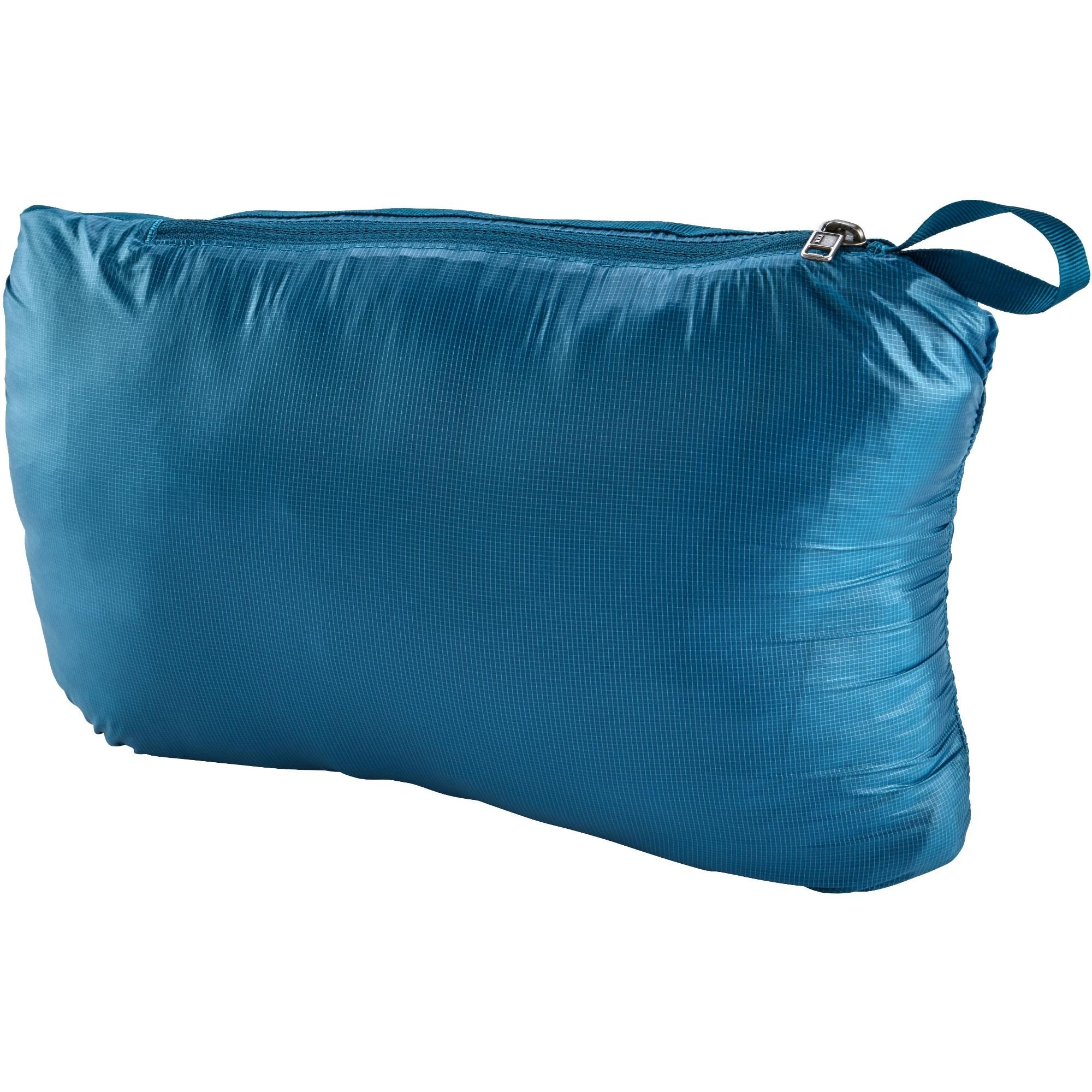 Patagonia Micro-Puff Hoody - Balkan Blue - stuff sack