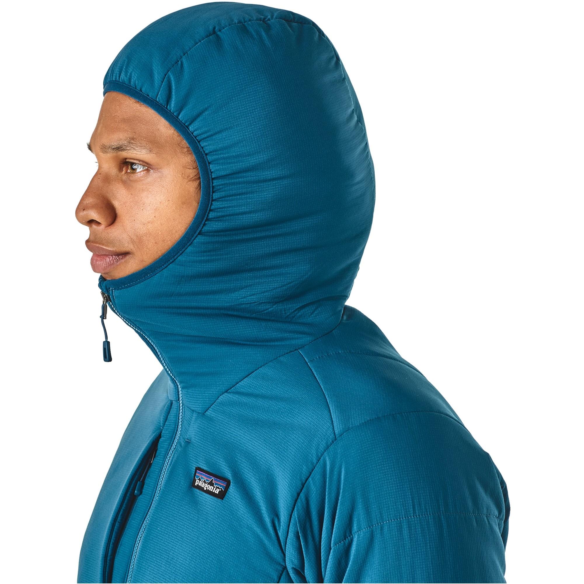 Patagonia Nano-Air Men's Hoody - Big Sur Blue - hood