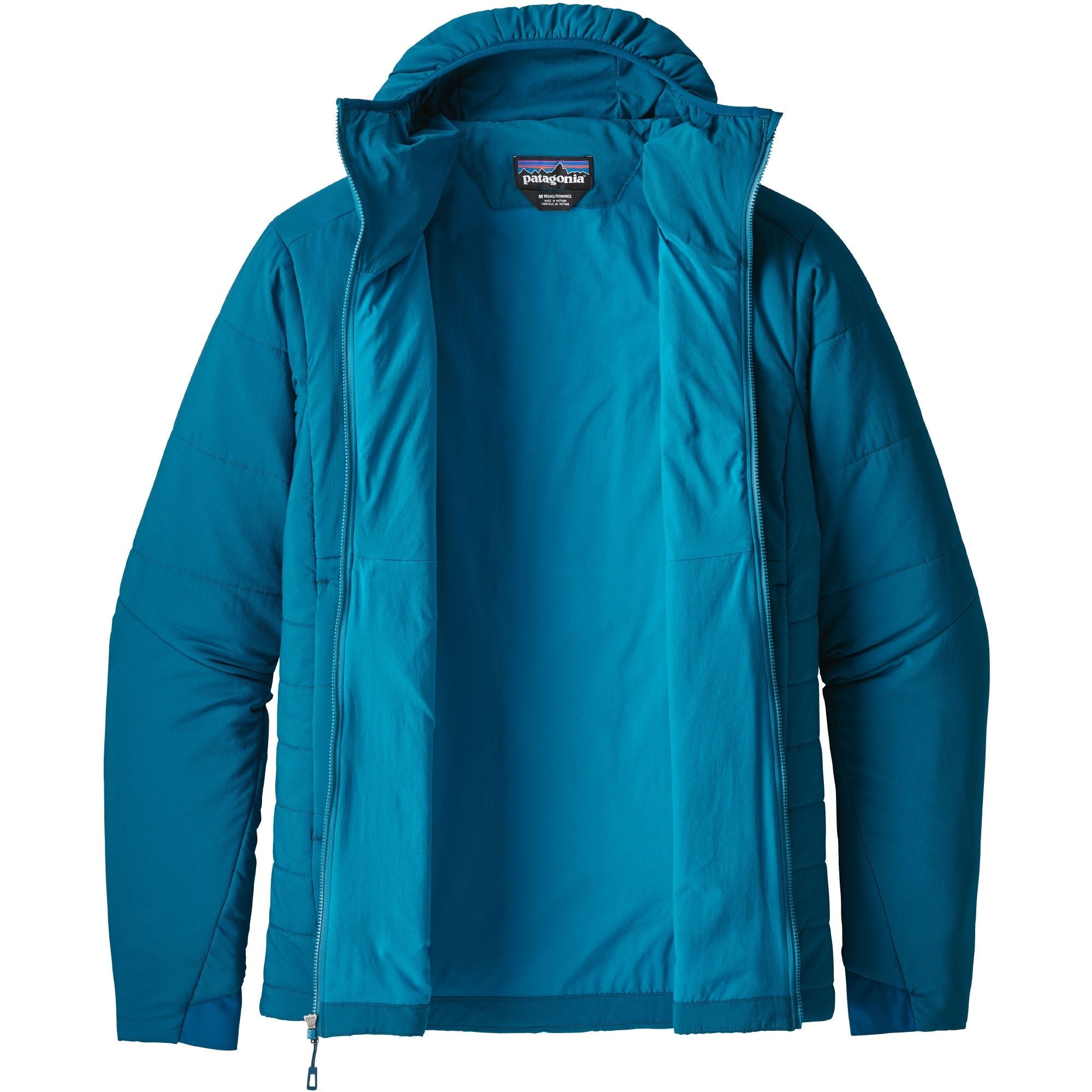 Patagonia Nano-Air Men's Hoody - Big Sur Blue - open