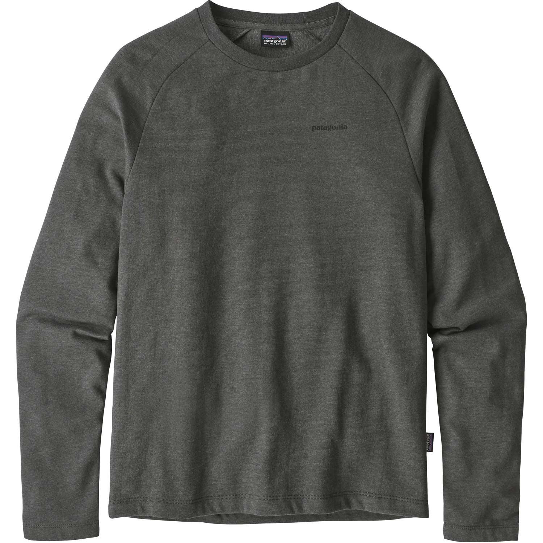 Patagonia P-6 Logo Lightweight Crew Sweatshirt - Men's - Forge Grey - front