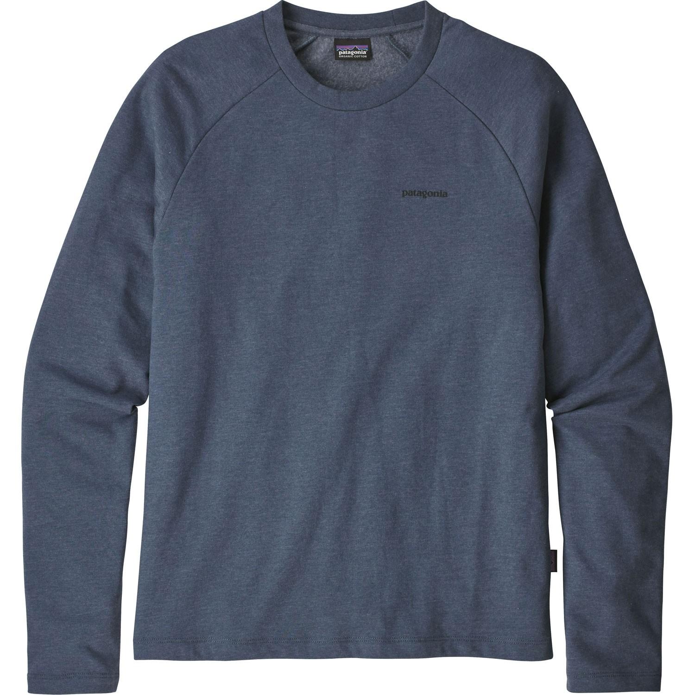 Patagonia P-6 Logo Lightweight Crew Sweatshirt - Dolomite Blue - Front