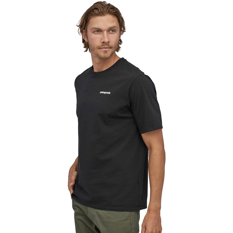 Patagonia Men's P-6 Logo Responsibili-Tee - Black