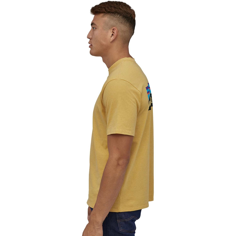 Patagonia Men's P-6 Logo Responsibili-Tee - Surfboard Yellow