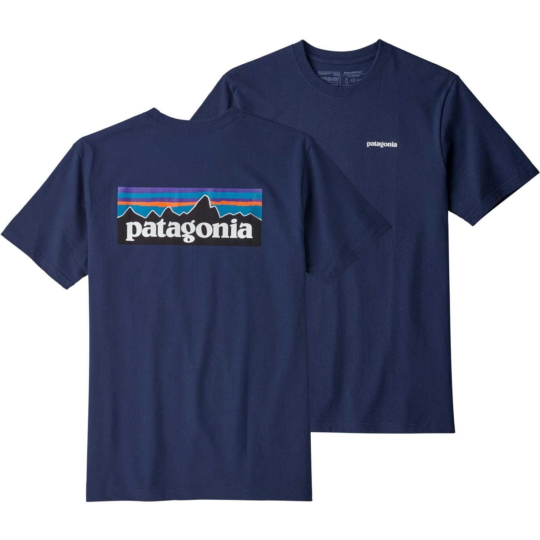 Patagonia P-6 Logo Responsibili-Tee - Classic Navy