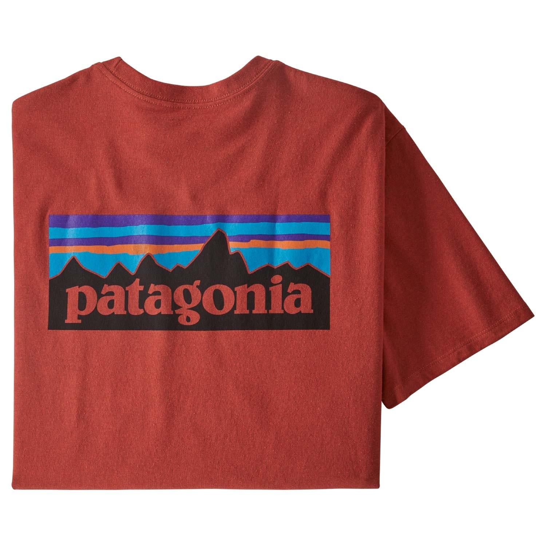 Patagonia P-6 Logo Responsibili-Tee - Men's - Hot Ember