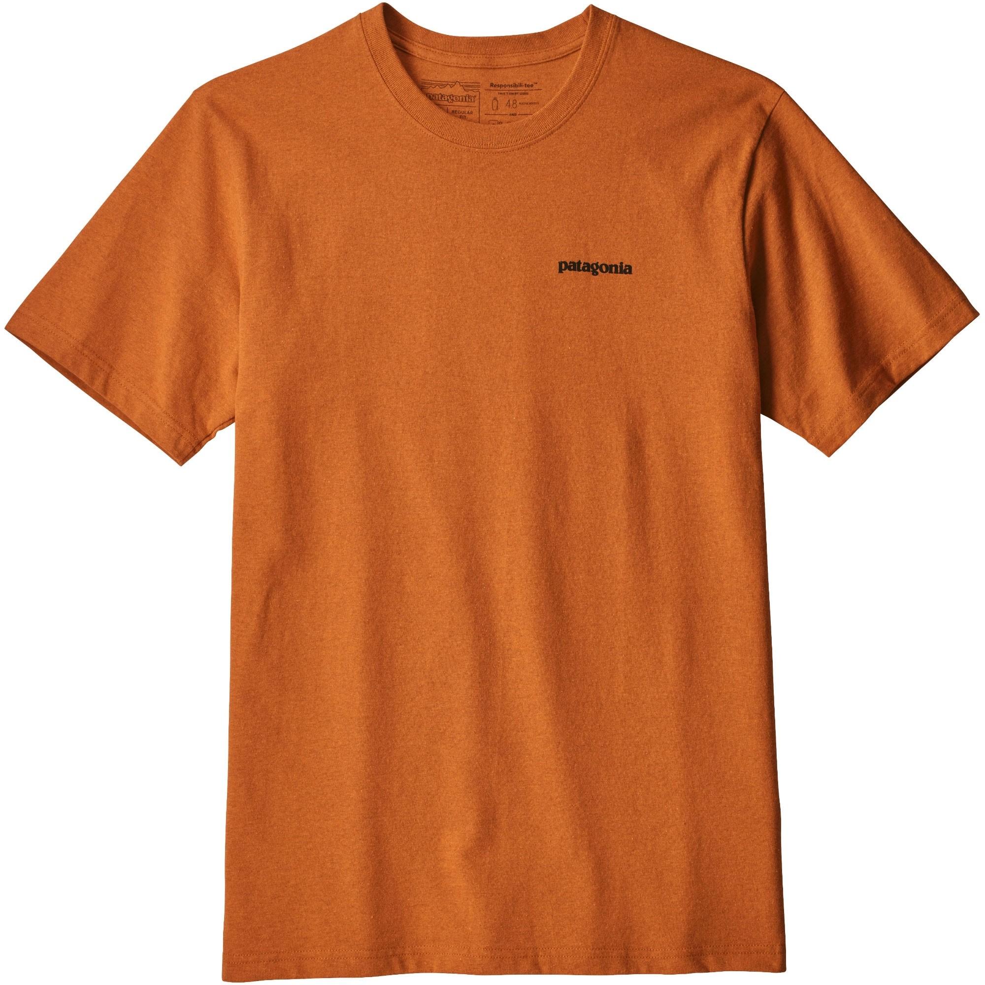 Patagonia Men's P-6 Logo Responsibili-Tee - Marigold - front