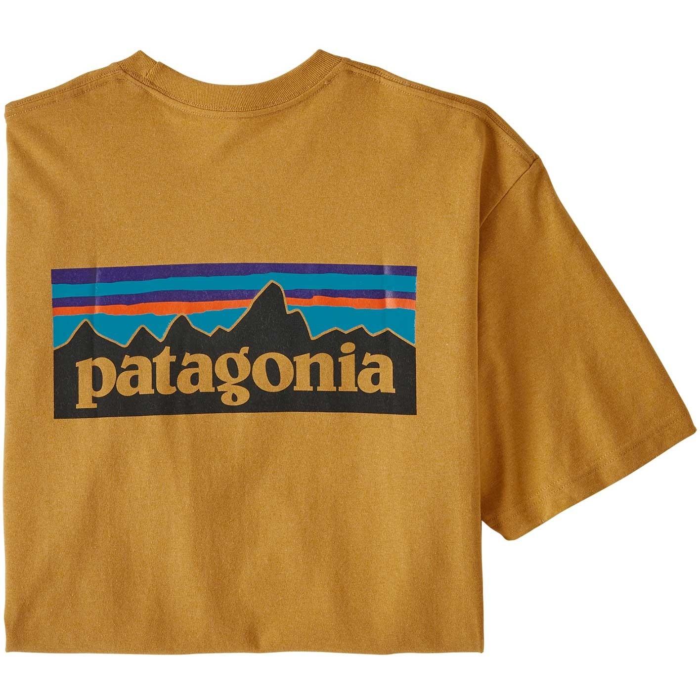 Patagonia P-6 Logo Responsibili-Tee - Glyph Gold