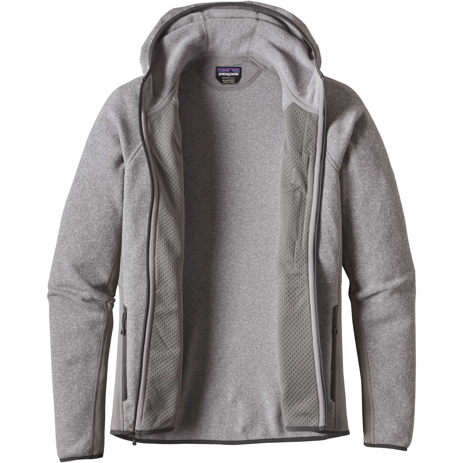 Patagonia Performance Better Sweater Hoody - Feather Grey