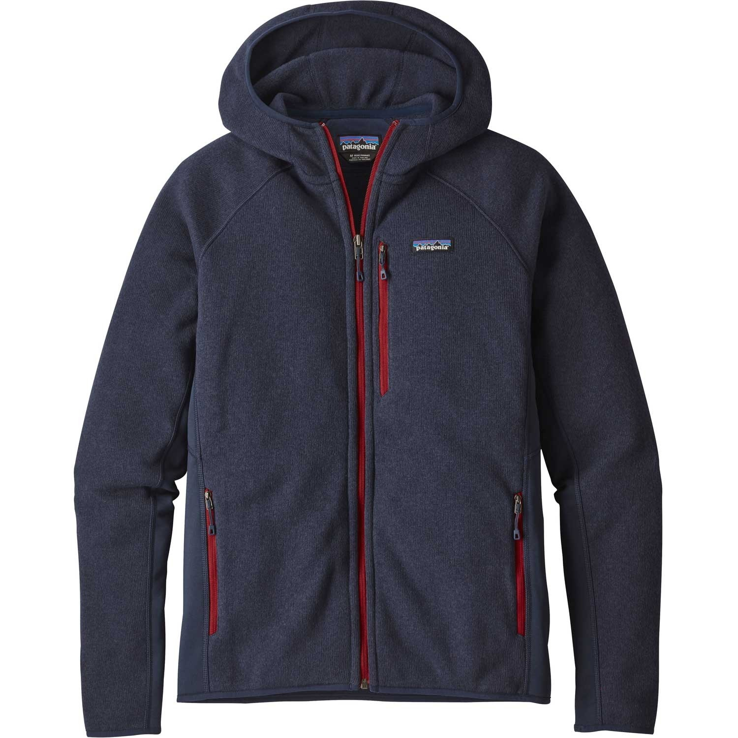 Patagonia Performance Better Sweater Hoody - Navy Blue