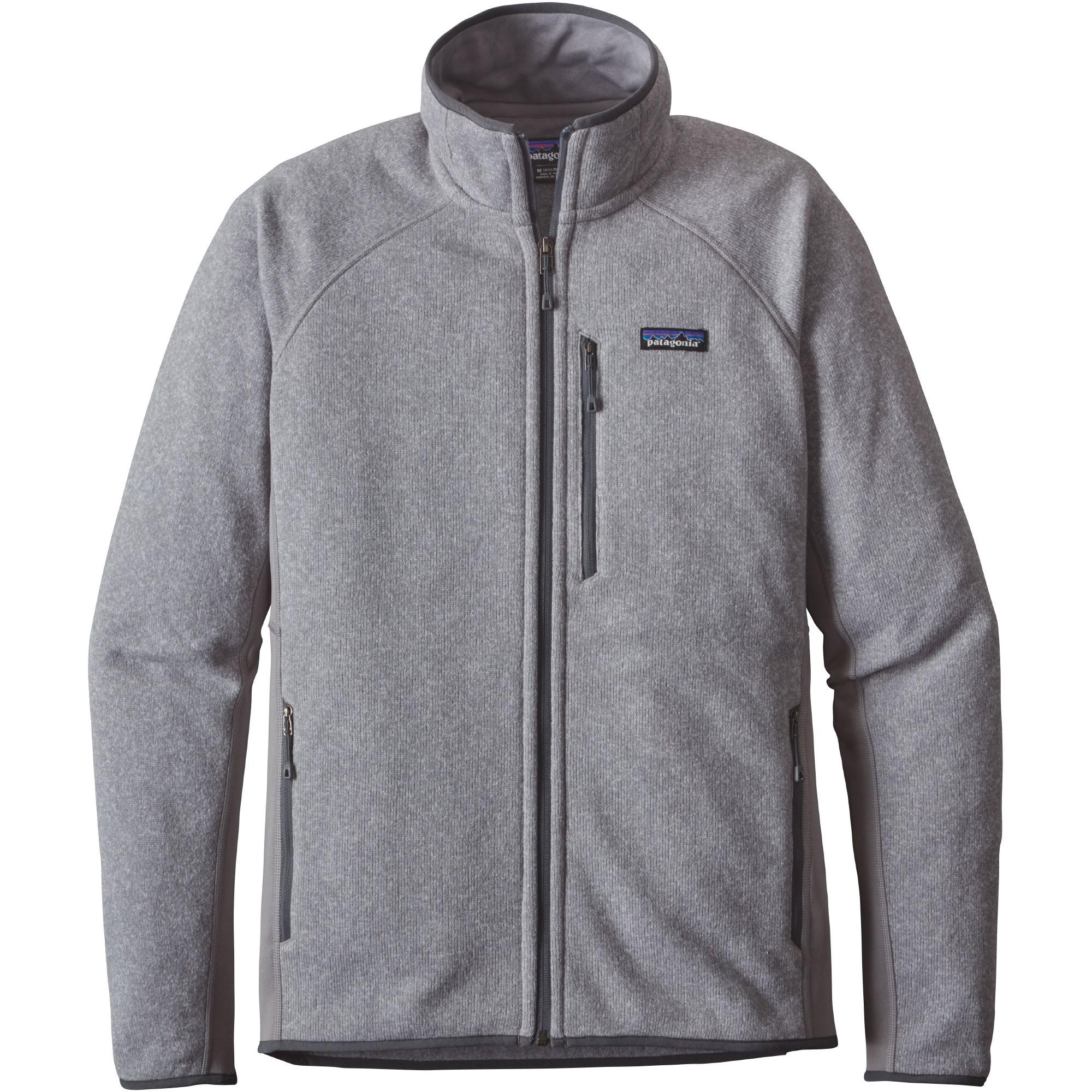Performance Better Sweater Men's Fleece Jacket - Feather Grey