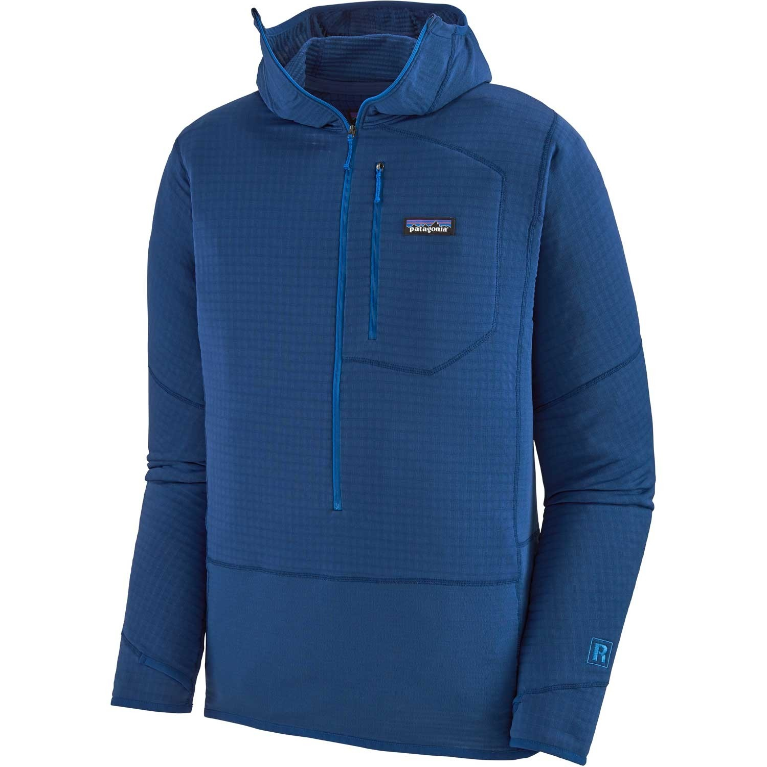 Patagonia R1 Pullover Hoody - Men's - Superior Blue