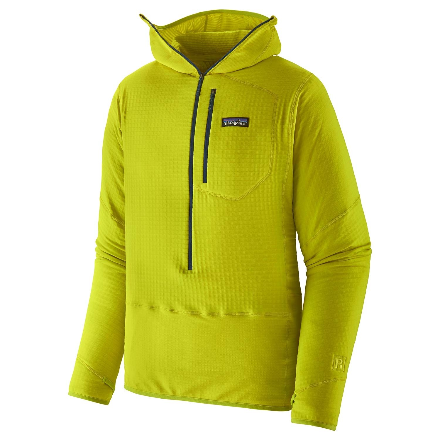Patagonia R1 Pullover Hoody - Men's - Chartreuse