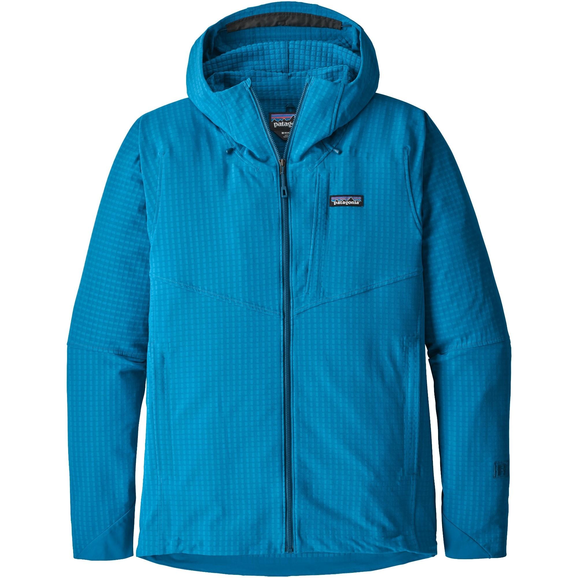 Patagonia R1 TechFace Hoody - Balkan Blue