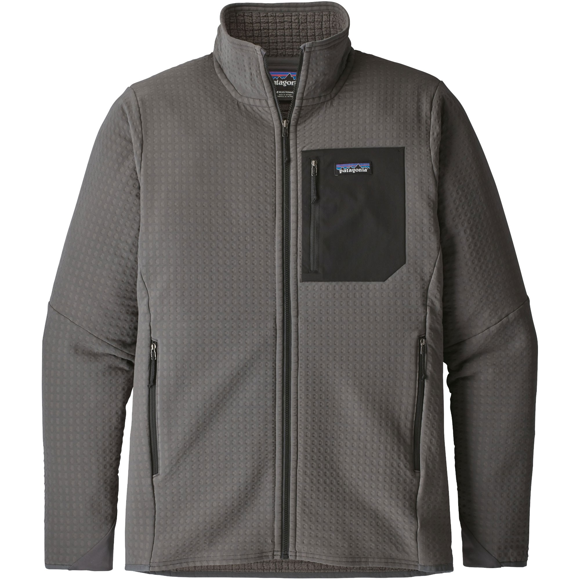 Patagonia R2 TechFace Jacket - Forge Grey