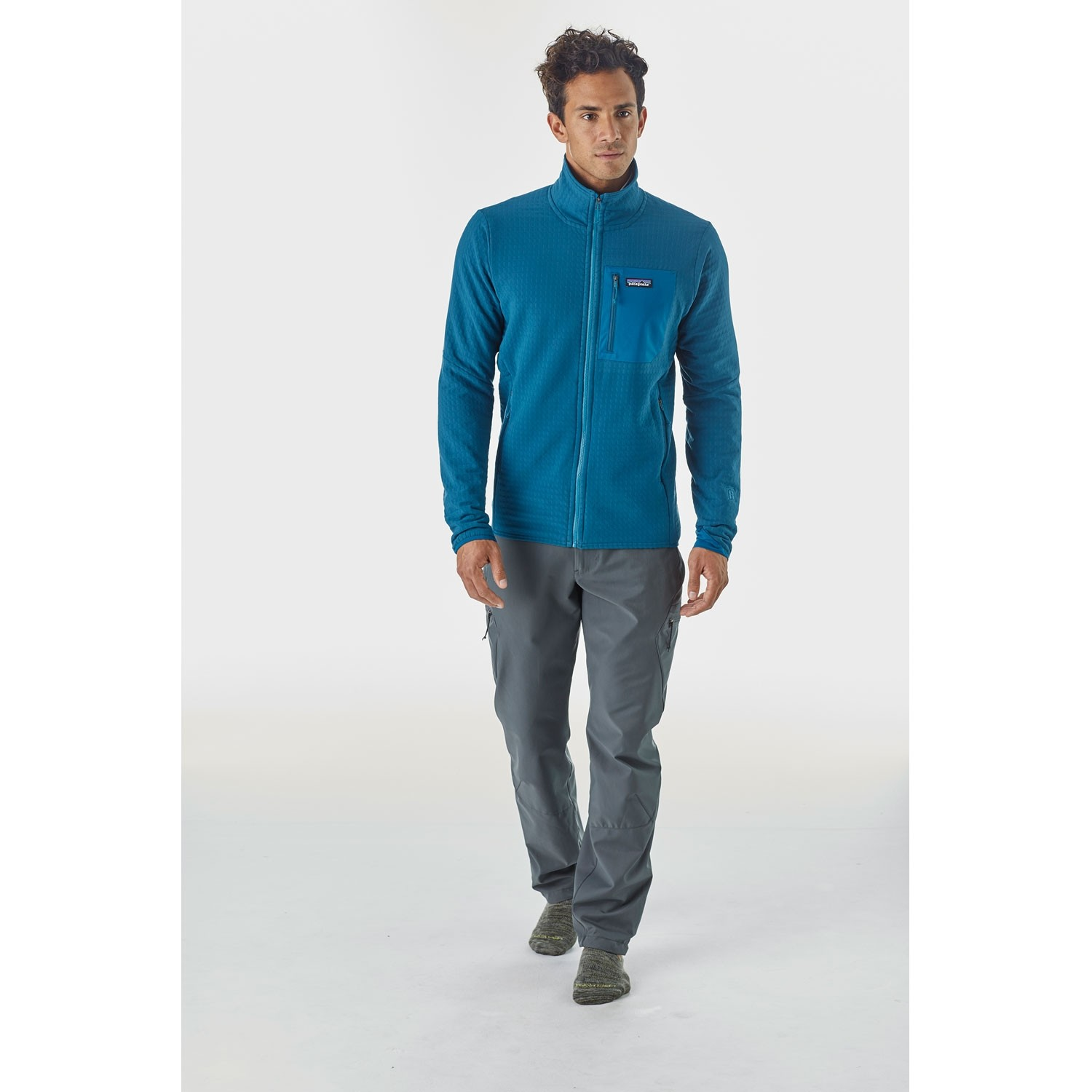 Patagonia R2 TechFace Jacket - Big Sur Blue