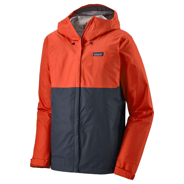 Patagonia Torrentshell 3L Jacket - Men's Waterproof - Hot Ember