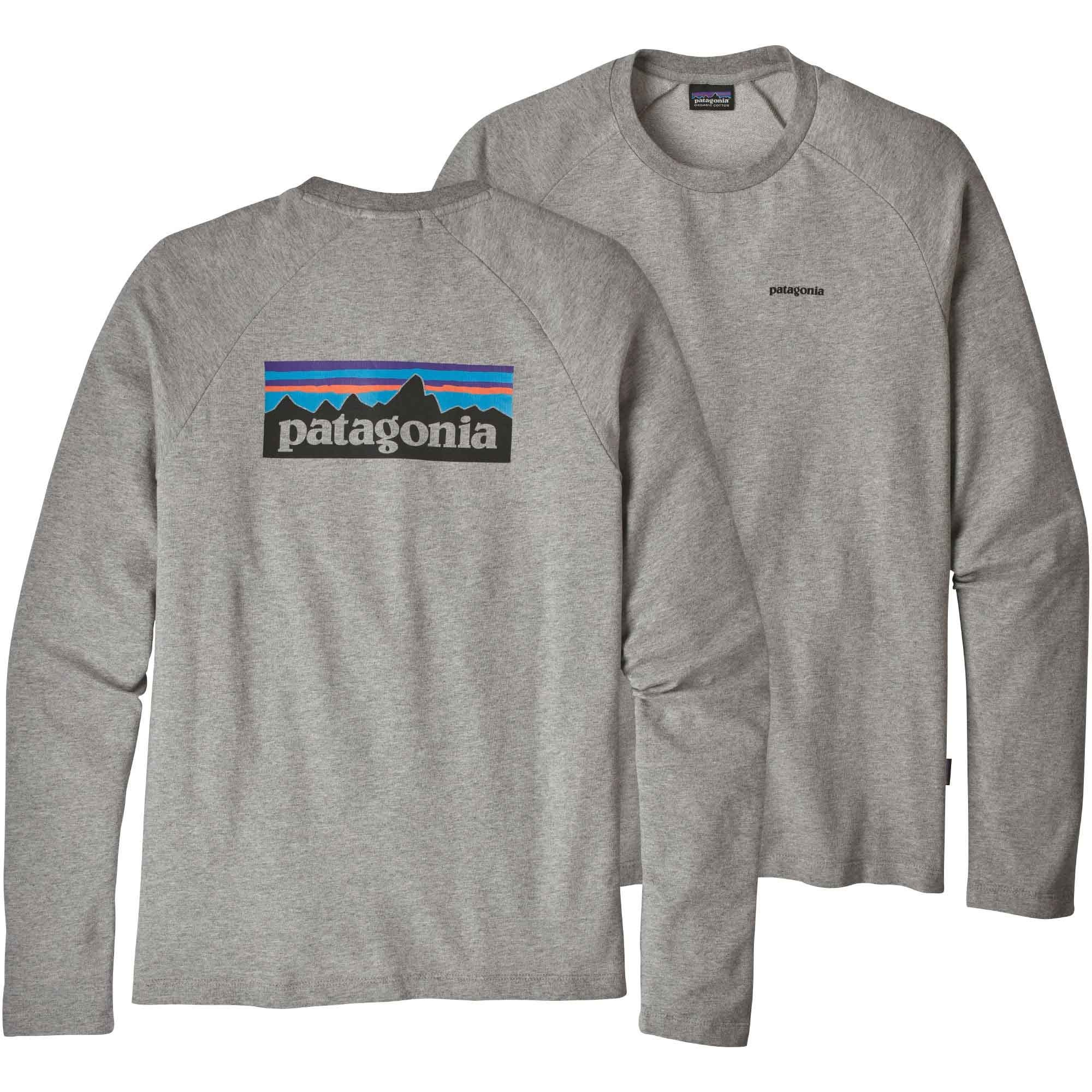 Patagonia-P-6-Logo-Lightweight-Crew-Sweatshirt-Mens-Feather-Grey-S18