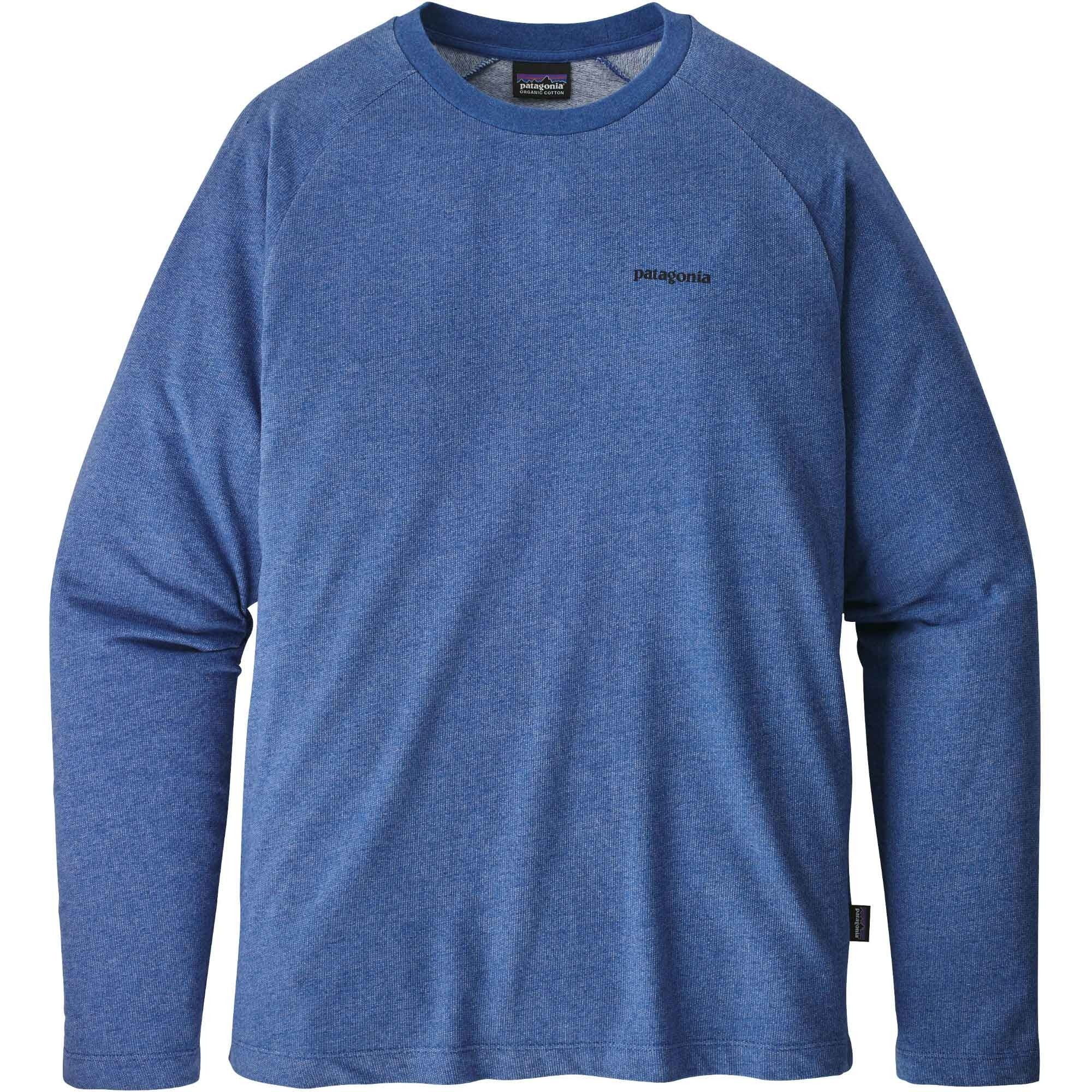 Patagonia-P-6-Logo-Lightweight-Crew-Sweatshirt-Mens-Superior-Blue-S18