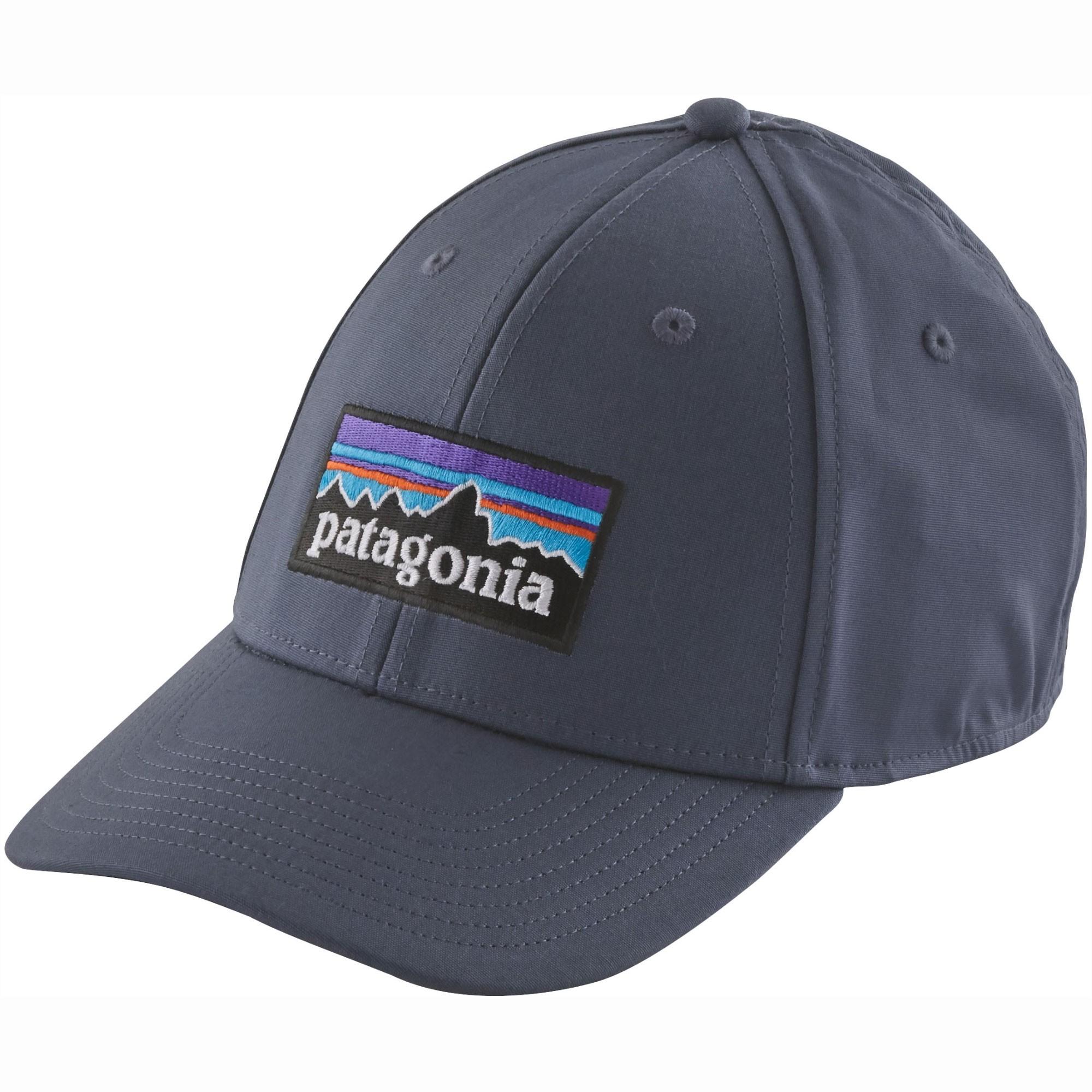 Patagonia-P-6-Logo-Stretch-Hat-Dolomite-Blue-S18.