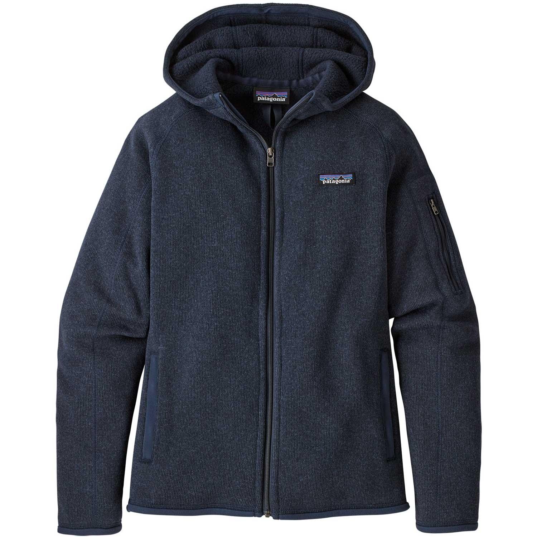 Patagonia Women's Better Sweater Full-Zip Fleece Hoody - New Navy