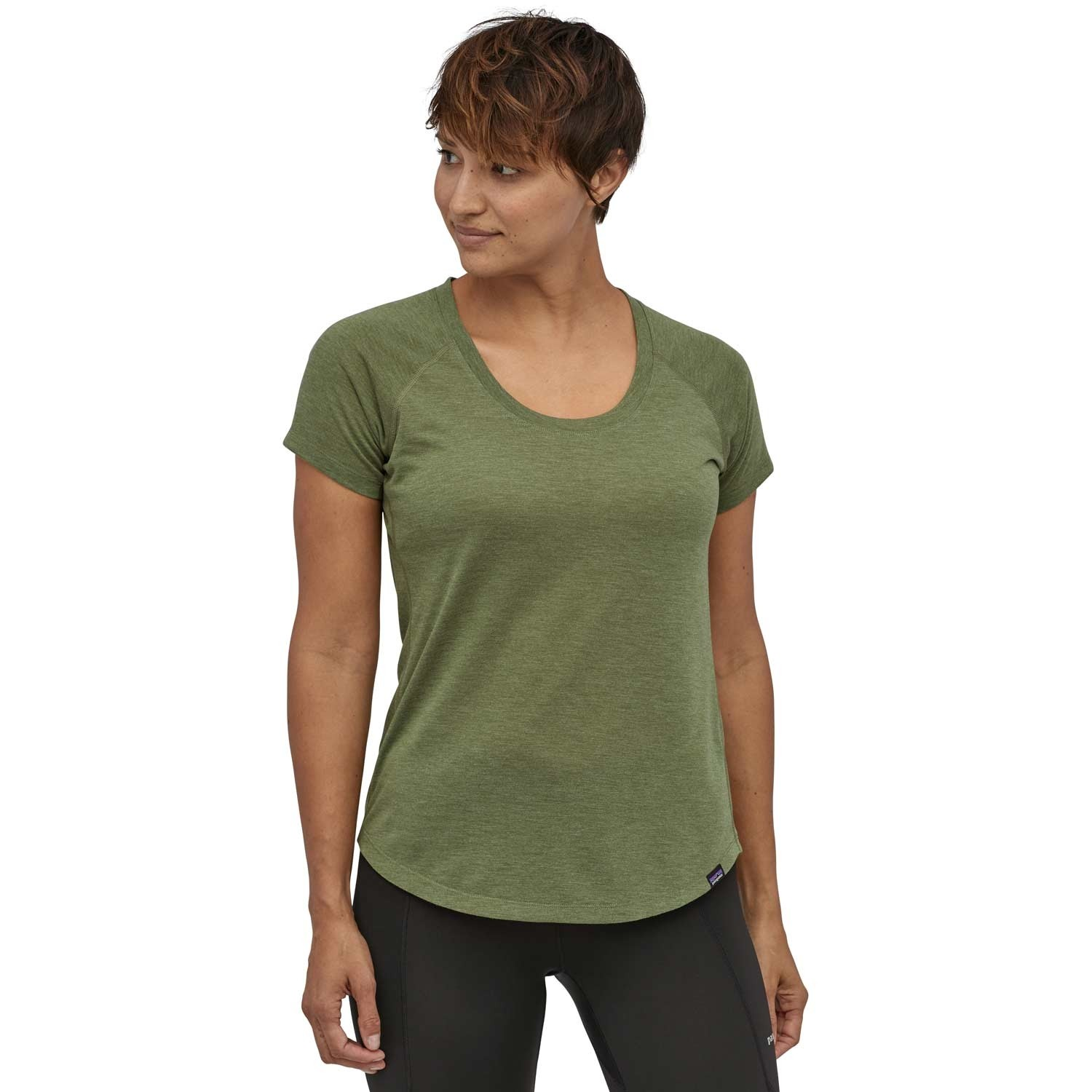 Patagonia Capilene Cool Trail Shirt - Women's - Camp Green