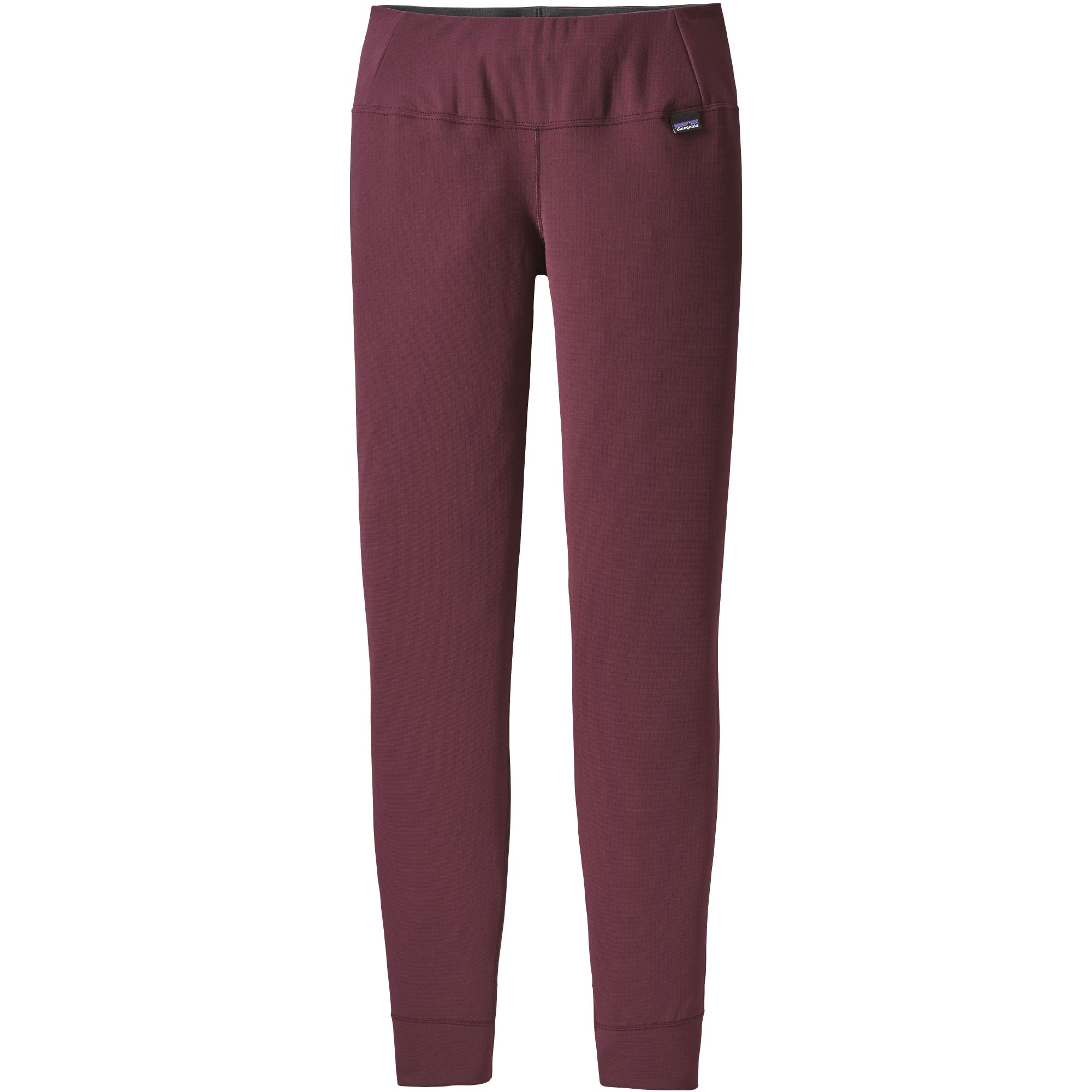 Patagonia Capilene Midweight Women's Baselayer Bottoms - Dark Currant