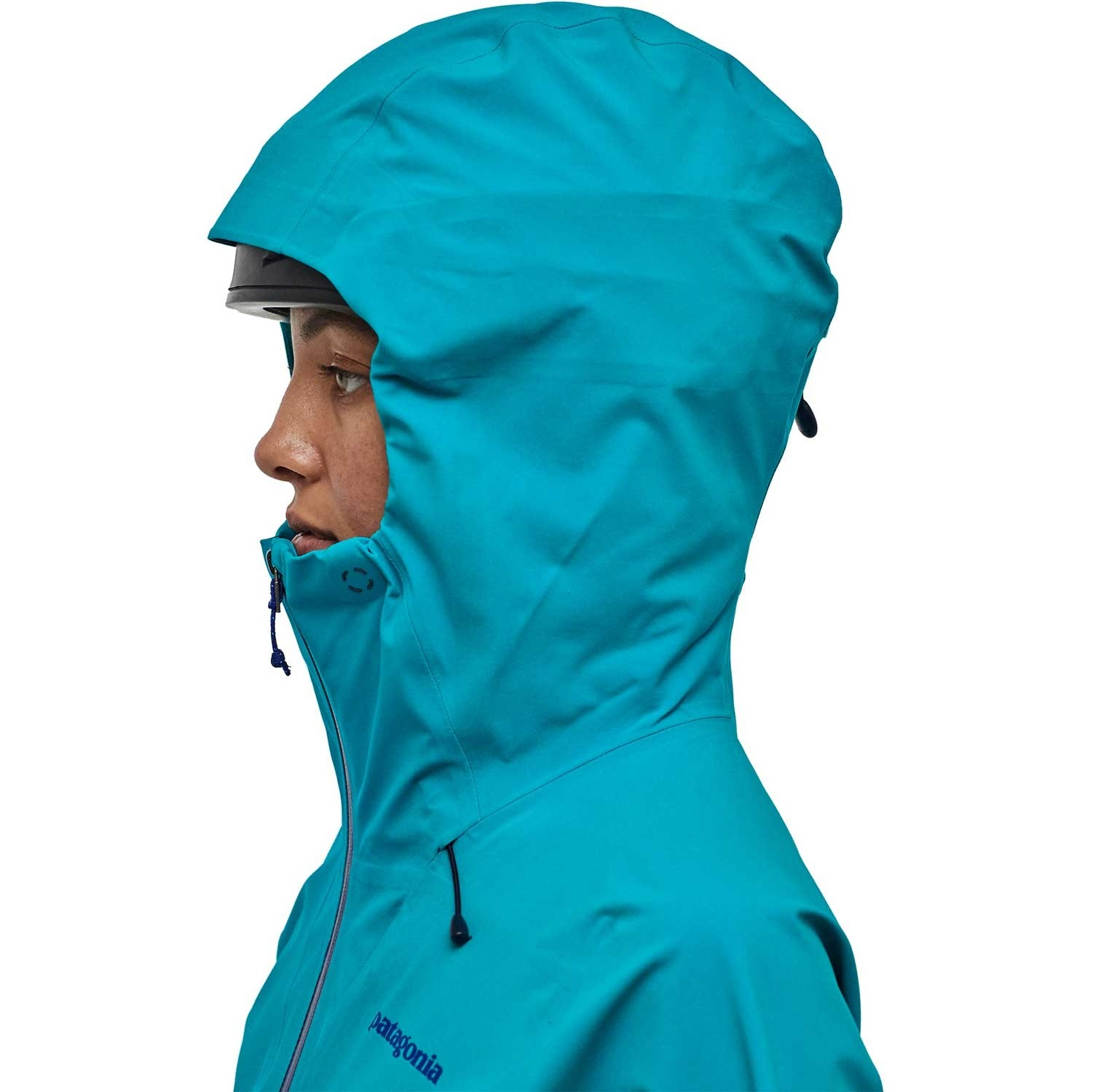 Patagonia Galvanized Waterproof Jacket - Women's - Curaçao Blue