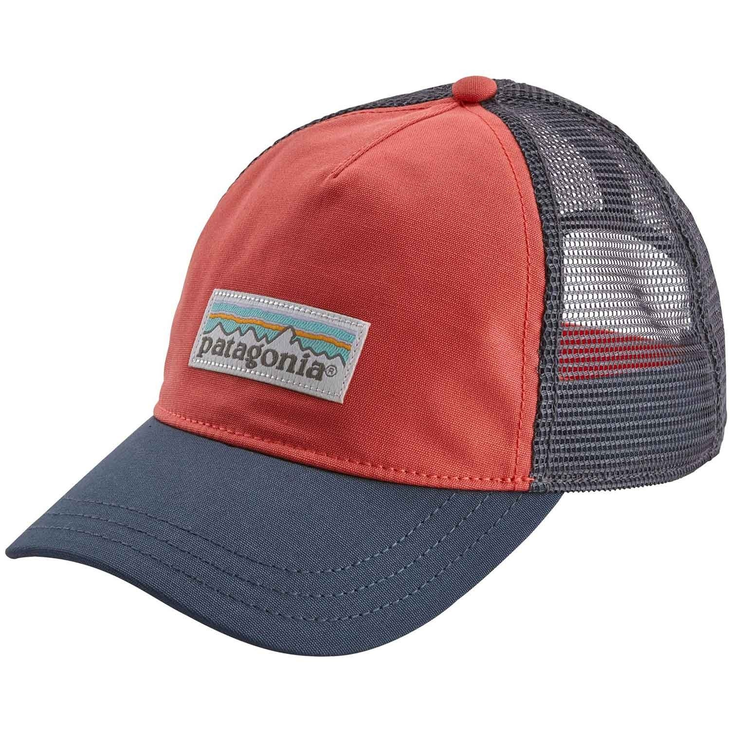 Patagonia Pastel P-6 Label Layback Trucker Hat - Spiced Coral