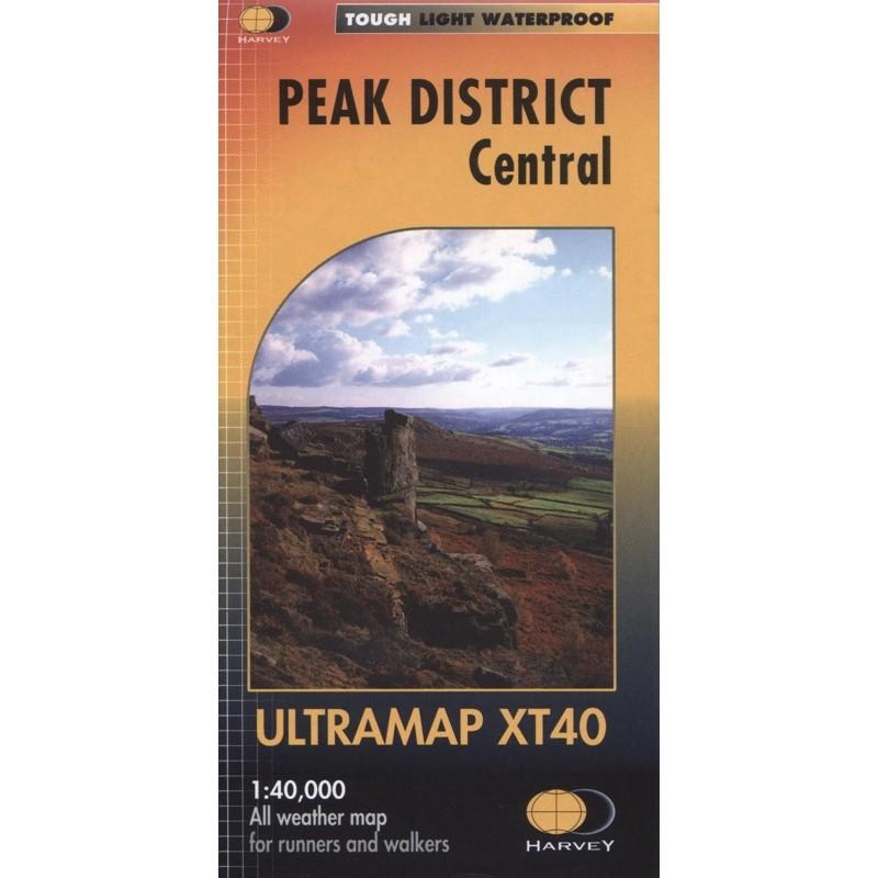 Peak District Central: Harvey Ultramap XT40
