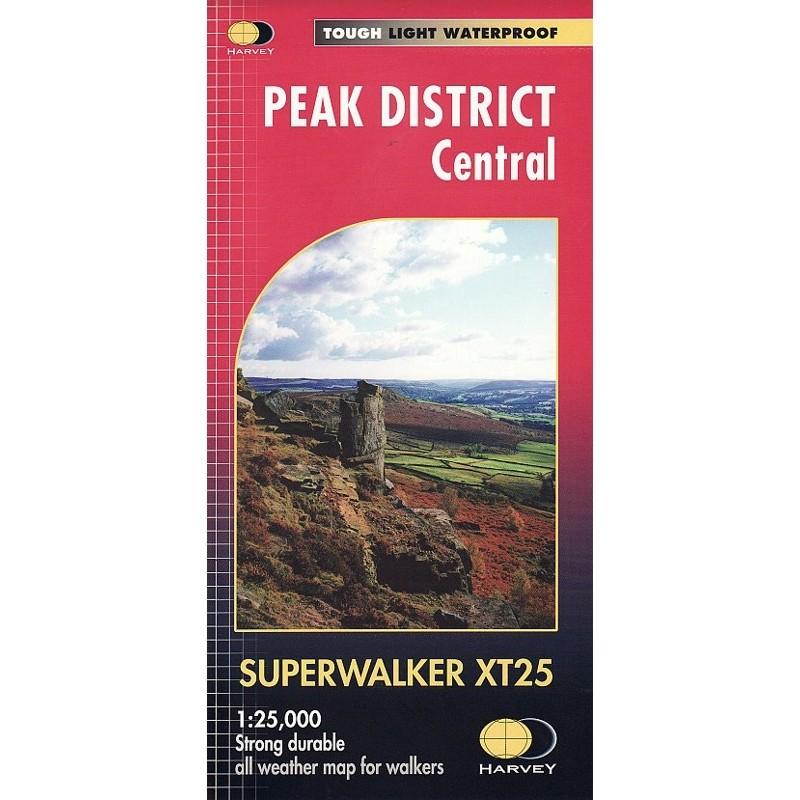 Peak District Central: Harvey Superwalker XT25 by Harvey