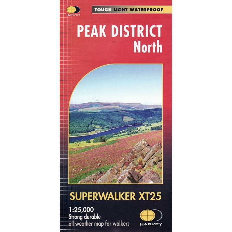 Peak District North: Harvey Superwalker XT25 by Harvey
