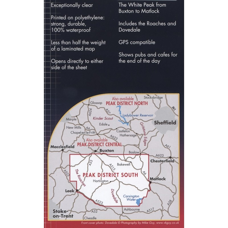 Peak District South: Harvey Superwalker XT25 by Harvey