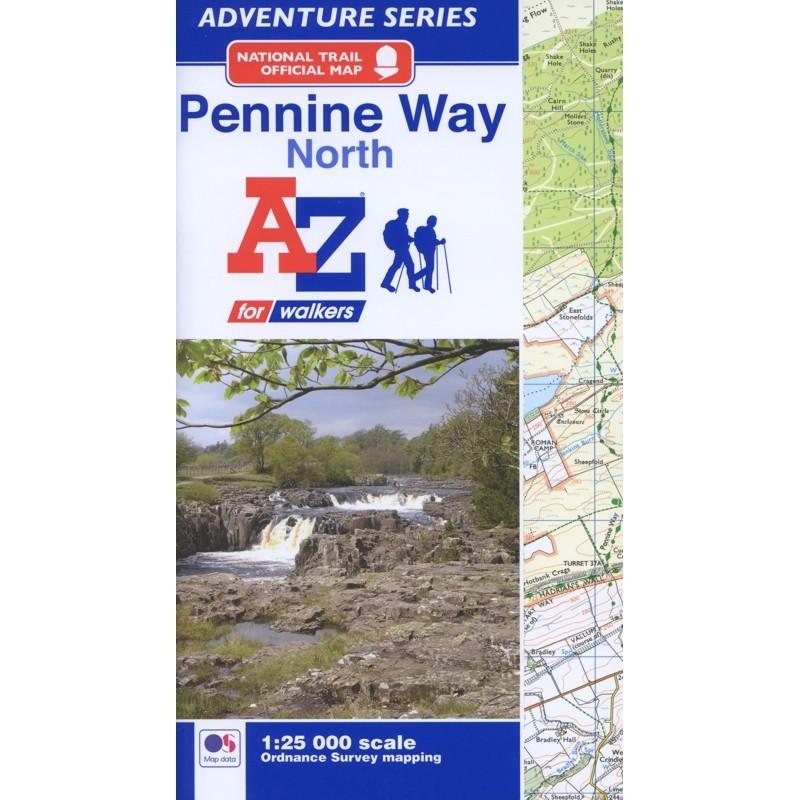 Pennine Way North: A-Z Adventure Atlas