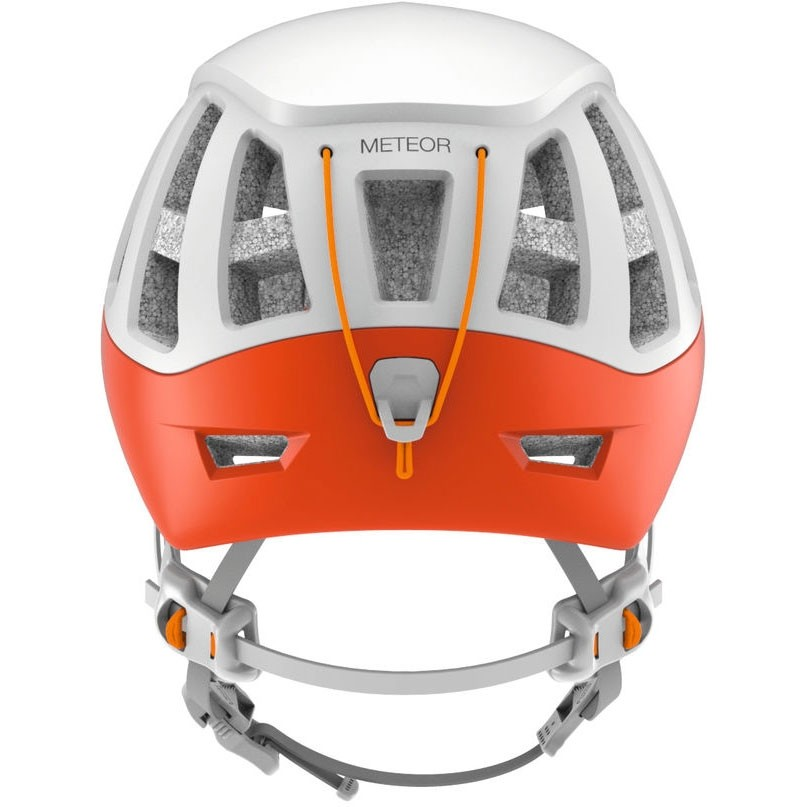 Petzl Meteor Climbing Helmet - Red/Orange - back