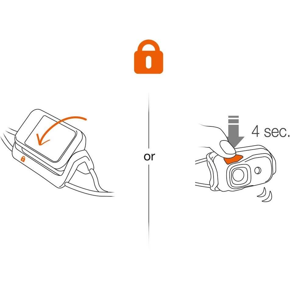 PETZL - Bindi Rechargeable Headtorch - Orange