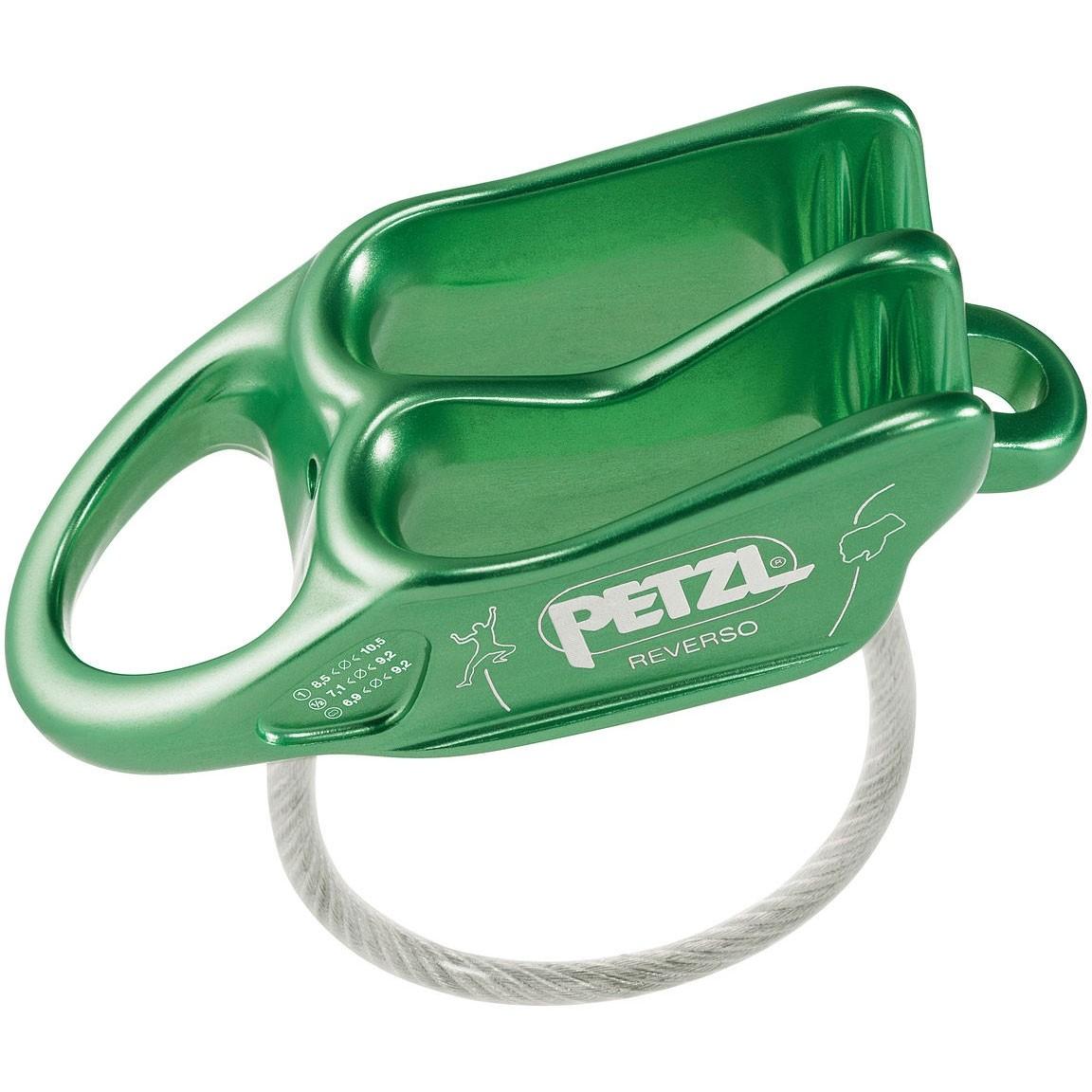 Petzl Reverso Belay Device - Green