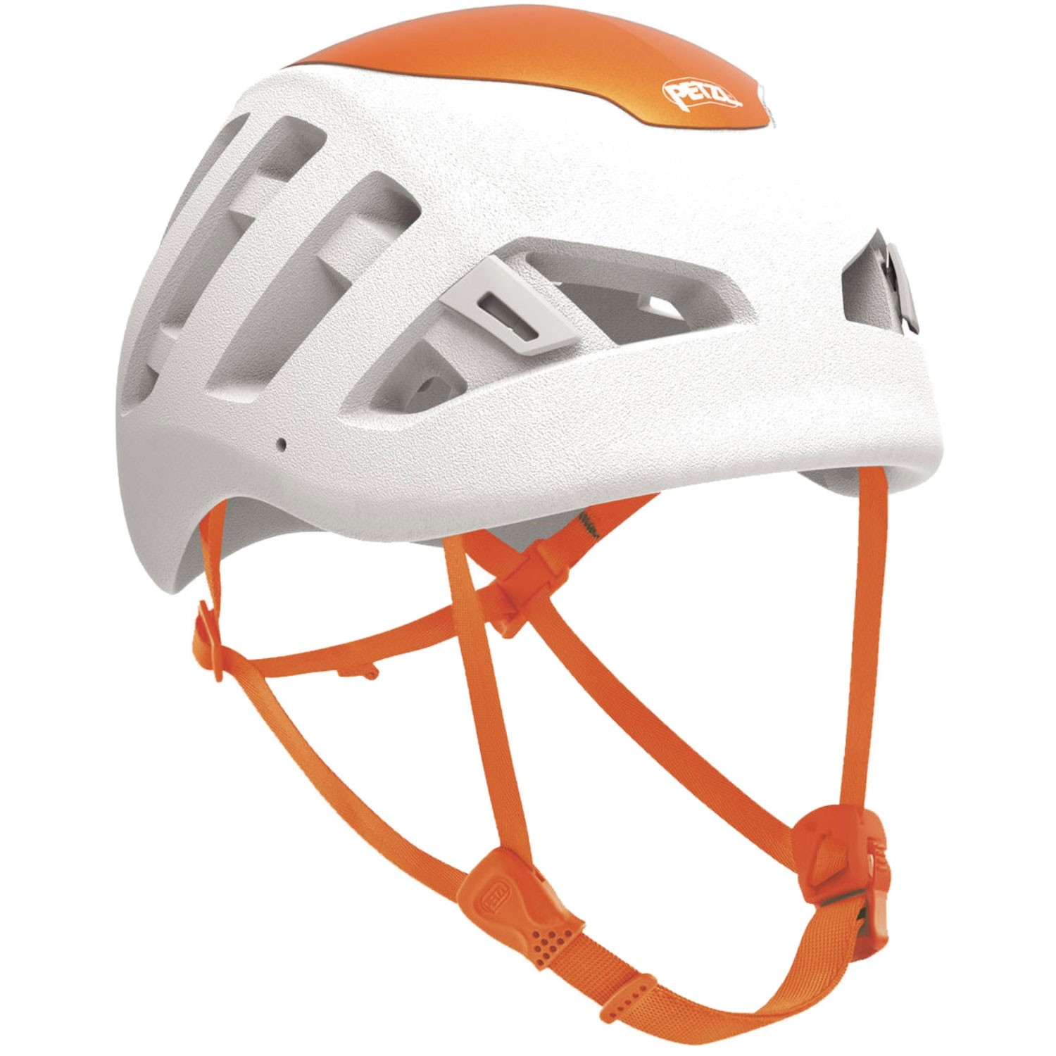 Petzl Sirocco Climbing Helmet - White/Orange