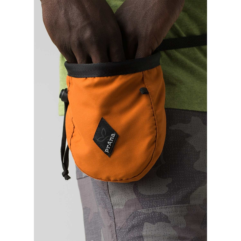Prana Chalk Bag with Belt - Russet